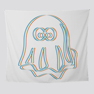 Psychedelic Ghost Ghouls Spirits Hun Wall Tapestry