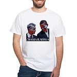 OBAMA-RAHM-A White T-Shirt