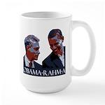 OBAMA-RAHM-A Large Mug