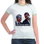 OBAMA-RAHM-A Jr. Ringer T-Shirt