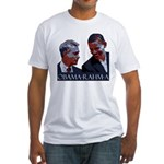 OBAMA-RAHM-A Fitted T-Shirt