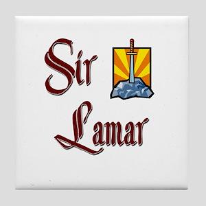 Sir Lamar Tile Coaster