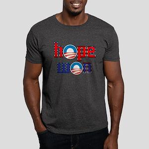 Barack Obama - Hope Won Dark T-Shirt