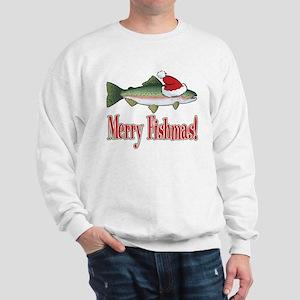 Merry Fishmas Sweatshirt