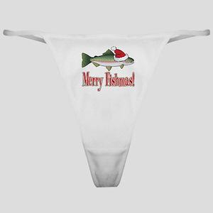 Merry Fishmas Classic Thong
