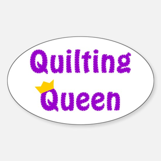 Queen of Quilting Decal