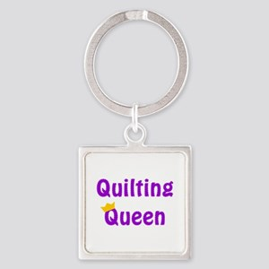Queen of Quilting Keychains