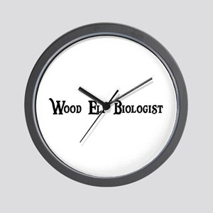 Wood Elf Biologist Wall Clock