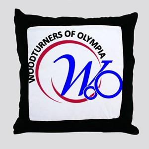 Woodturners Of Olympia Throw Pillow