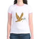 Golden Dove Jr. Ringer T-Shirt