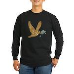 Golden Dove Long Sleeve Dark T-Shirt