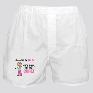 Bald 1 Breast Cancer (SFT) Boxer Shorts