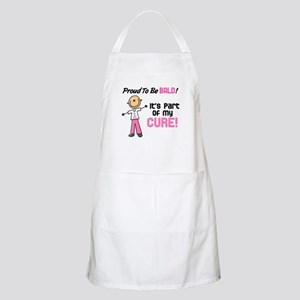 Bald 1 Breast Cancer (SFT) BBQ Apron