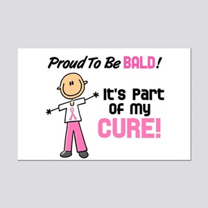 Bald 1 Breast Cancer (SFT) Mini Poster Print