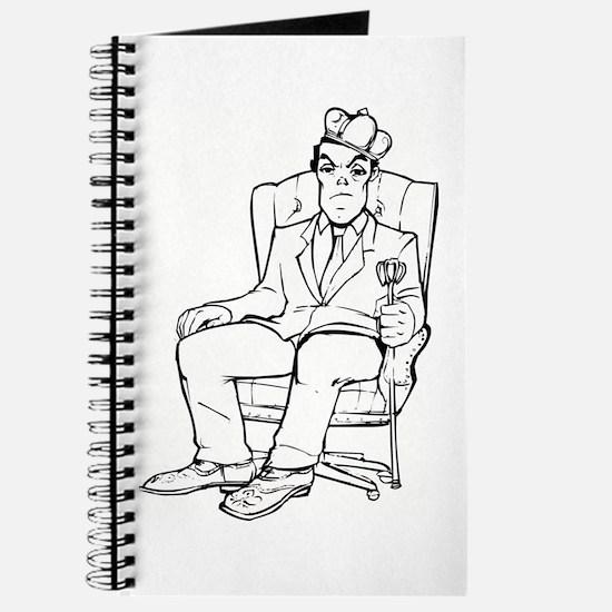 Funny Businessman Journal