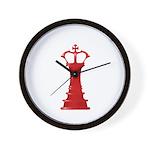 Chess Piece Wall Clock
