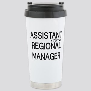 Assistant Manager 16 oz Stainless Steel Travel Mug
