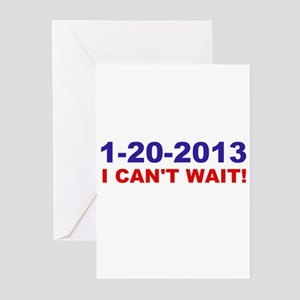 1-20-2008 I Can't Wait! Greeting Cards (Pk of 10)