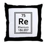Rhenium Throw Pillow