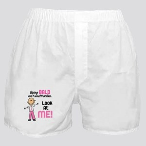 Bald 2 Pink (SFT) Boxer Shorts