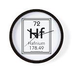 Hafnium Wall Clock