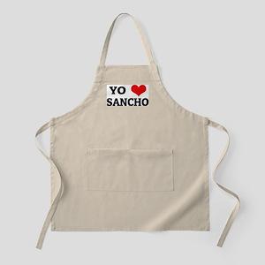 Amo (i love) Sancho BBQ Apron