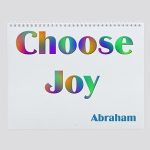 Choose Joy #752 Abraham Sayings Wall Calendar