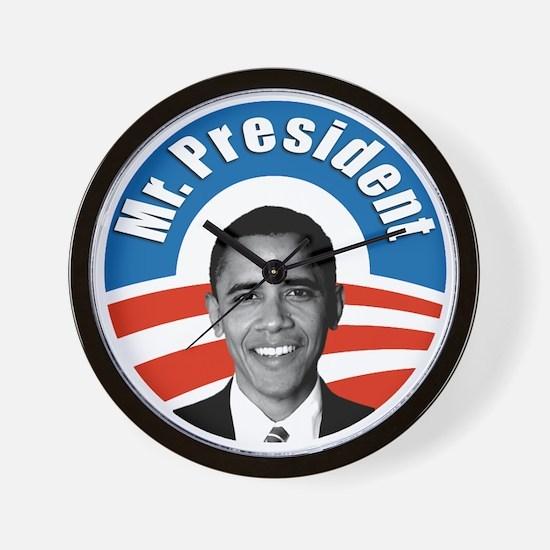Obama - Mr President Wall Clock