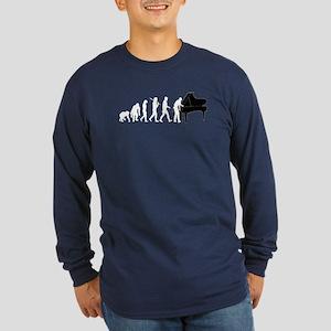 Piano Tuner Long Sleeve Dark T-Shirt