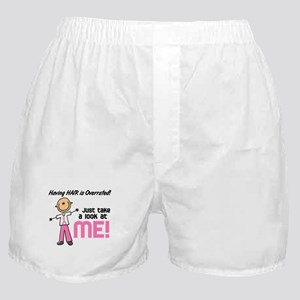 Bald 5 Pink (SFT) Boxer Shorts