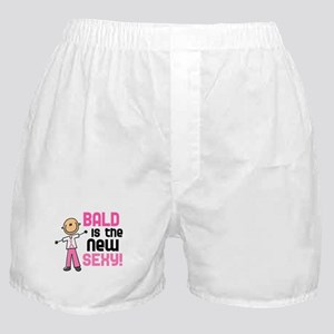 Bald 6 Pink (SFT) Boxer Shorts