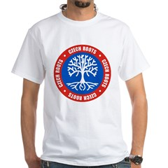 Czech Roots White T-Shirt