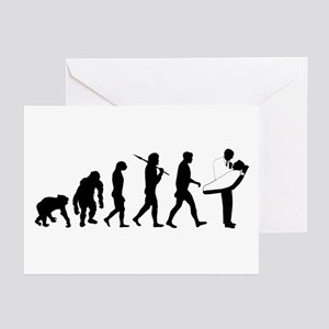 Dentist Evolution Greeting Cards (Pk of 20)