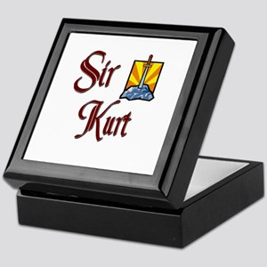 Sir Kurt Keepsake Box