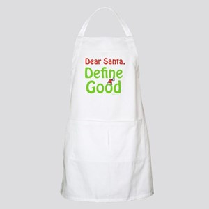 Define Good Santa BBQ Apron