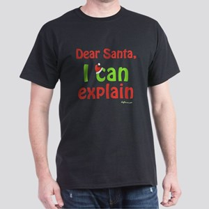 Santa I Can Explain Dark T-Shirt