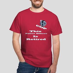 Police Retirement. Dark T-Shirt