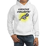 Karaoke Vigilante Hooded Sweatshirt