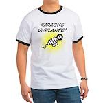 Karaoke Vigilante Ringer T