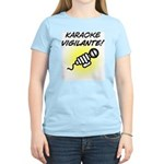 Karaoke Vigilante Women's Light T-Shirt