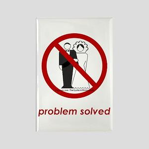Problem Solved Rectangle Magnet