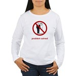 Problem Solved Women's Long Sleeve T-Shirt