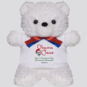 Obama Claus! Teddy Bear