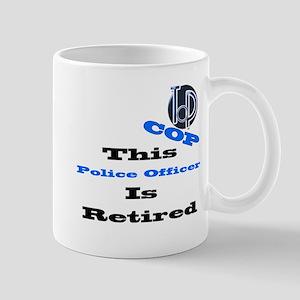 Police Retirement. Mug