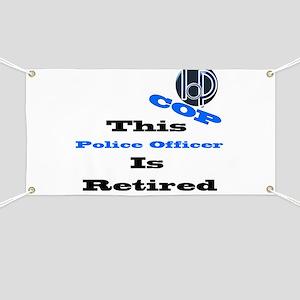 Police Retirement. Banner