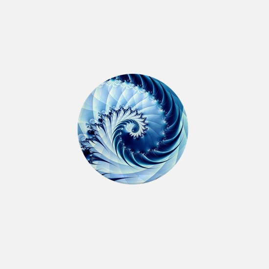 Unique Fractal art Mini Button