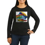 PlanetPPG Women's Long Sleeve Dark T-Shirt