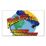 PlanetPPG Rectangle Sticker 10 pk)