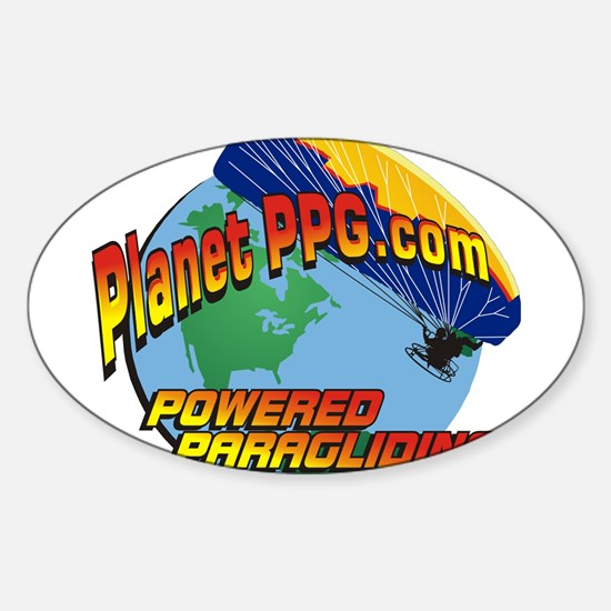 PlanetPPG Oval Decal