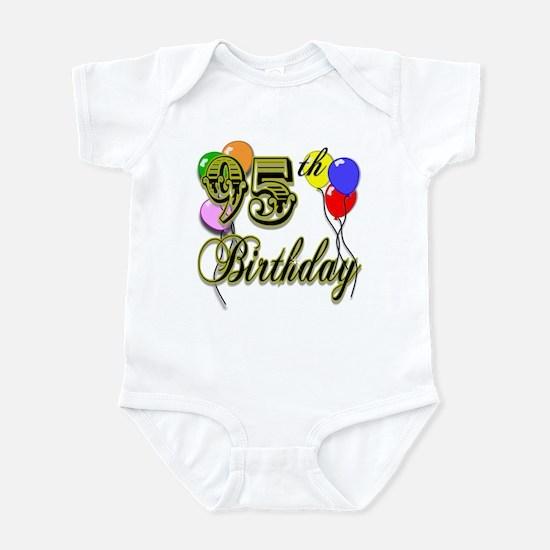 95th Birthday Infant Bodysuit